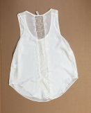 Eyelash lace tank from Paper Crane - $2