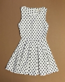 Polka dot dress from Sans Souci - $2